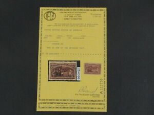 Nystamps US Stamp # 234 Mint OG NH $210 PF Certificate u25xh