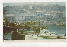 Mevagissey Harbour Cornwall 1954 Postcard 716a