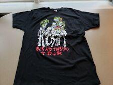Rare Vintage 2000 Korn Sick And Twisted World Tour T-Shirt Xl Original