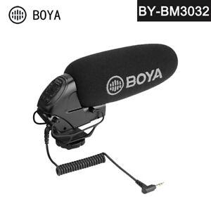 BOYA BY-BM3032 on-Camera Shotgun Microphone for DSLR Camcorder Audio Recorder