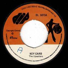 "UPSETTERS-key card    dip 7""     (hear)    reggae  lee perry"