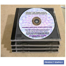 4 CD REDUCE STRESS Fear Reduction Relaxation Inner Peace of Mind INSTANT RESULTS