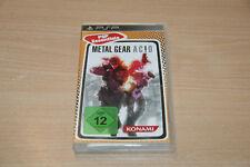 Metal Gear Ac! d (Sony PSP, 2012) Top estado USK 12