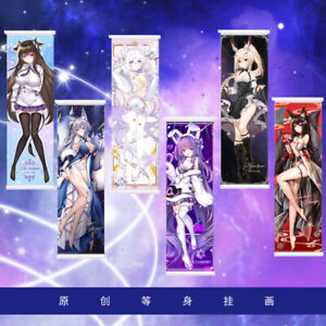 50x150cm Anime Azur Lane ART Wall Scroll Poster Home Decor Holiday Gift 59 inch