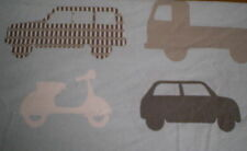 LARGE VEHICLE, TOW TRUCK, CEMENT MIXER, BUS,CAR,MOTORBIKE FABRIC (50cm x 50cm)