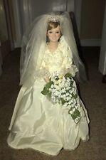 Danbury Mint Princess Diana Bride Doll 1986