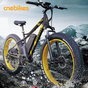 CNEBIKES 1500w/48v Fat Tire Electric Moped Scooter Ebike Beach Mountain Bike