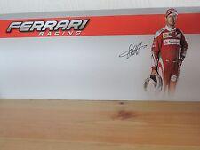 Sebastian Vettel 1:18 1:43 Affichage Carte diorama Pit Background F1 Ferrari NEUF