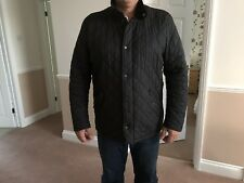 Men's Barbour Chelsea Black Quilted Jacket XL