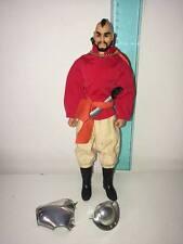 VINTAGE 1970'S MATTEL BIG JIM -  PROF. OBB FIGURE WITH  CLOTHES