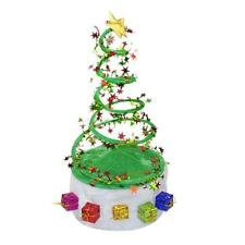 Christmas Xmas Tree Party Adult Children Kids Hat Cap Costume Gifts Decoration