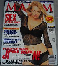 Maxim Magazine June 2002 Jeri Ryan Bernie Mac Malia Jones Alana De La Garza