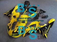 Yellow INJECTION Fairing Bodywork Plastic Fit Yamaha YZF-R1 1998-1999 022 A3