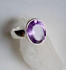 Ring mit  Amethyst, 925er Silber, Gr. 16,2