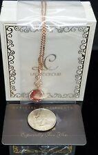 Lady Colour Teardrop Pendant Necklace|NIB|USA SELLER