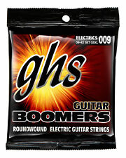 GHS GBXL Boomers Extra Light  Roundwound Electric Guitar Strings 9-42