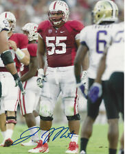Jonathan Martin Stanford Carolina Panthers Signed 8x10 Photo COA