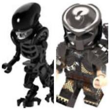 Simil LEGO Alien vs Predator Minifigures New