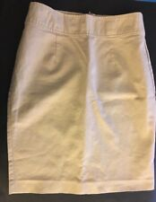 Vintage 08's Old Navy High Rise Size 12 Tan Beige 3% Spandex Cotton Skirt