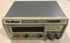 Fordham Fc 150 Frequency Counter Hf 10hz 23mhz Vhf 10mhz 230mhz