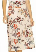Sanctuary Women's Skirt Beige Size XL A-Line Floral Everday Daytime $79 #663