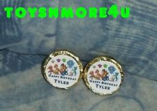 @**100 PERSONALIZED PAW PATROL BIRTHDAY KISS CANDY FAVOR LABELS**@