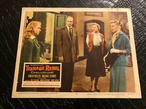 1956 MOVIE LOBBY CARD #4-2359 TEENAGE REBEL - GINGER ROGERS