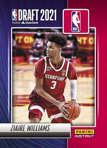 2021-22 Panini Instant NBA Draft Night Ziaire Williams PRESALE