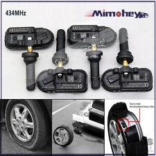 4pc 434mhz Tire Pressure Sensor Tpms For 14 18 Dodge Ram 1500 2500 3500 Cherokee