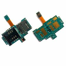 100% autentico Samsung I9000 Galaxy S SIM MICROSD CARD HOLDER READER SD SLOT PCB