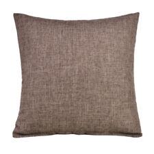 """16""""/18""""/20""""/22"""" Thicken Cotton Linen Plain Colour Car Sofa Seat Cushion Cover"""