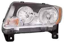 New Jeep Compass 2011 2012 2013 left driver headlight head light
