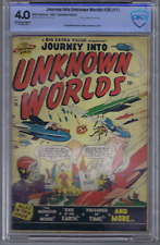 Journey into Unknown Worlds #36 (#1) Bell Features 1950,CANADIAN EDITION