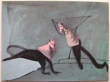 GERARD GAROUSTE  - Carton d invitation - 1994