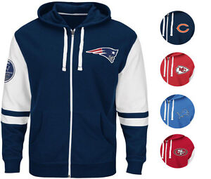 NFL Men's Big & Tall Arm Patch FREE PACE Hoodie