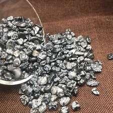 Natural Flakes Obsidian gravel polishing  stone fish tank decoration11lb 5-12mm