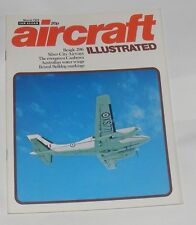 AIRCRAFT ILLUSTRATED MARCH 1972 - THE BEAGLE 206/BRISTOL BULLDOG MARKINGS