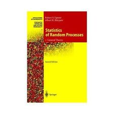 Statistics of Random Processes Vol. 1 : General Theory 5 by Robert Liptser...