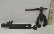 Vintage Plumbers Tools Duro tube Flaring Tool Anree Basin Wrench Lot of 2