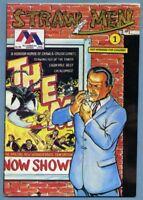 Straw Men #1 1989 Mike Vance RA Jones Rob Davis Innovation All-American Comics