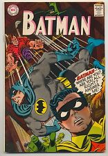 Batman #196 (1967) Very Good (4.0) ~ DC Comics ~ Gardner Fox