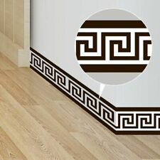 Waterproof Removable Wall Border Stickers for Home Decoration 10*200cm Geometric