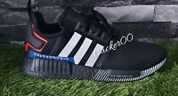 Adidas Originals NMD R1 Men's Trainers Running Japan Pack Black Lush Red Uk 9.5