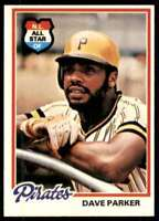 1978 Topps (Pp7) Dave Parker Pittsburgh Pirates #560