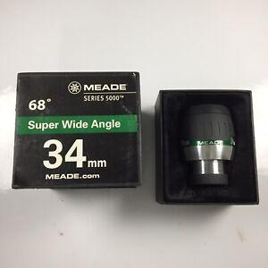 "Meade 2"" 34mm Super Wide Angle SWA Telescope Eyepiece 5000 Series"