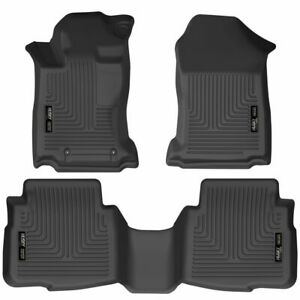 Husky Weatherbeater 1st 2nd Row Combo Floorliners Fits 2020 Legacy & Outback