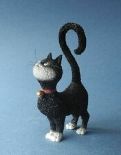"""WHAT'S FOR DINNER?"" ALBERT DUBOUT CAT KITTEN STATUE SCULPTURE FRANCE FRENCH ART"