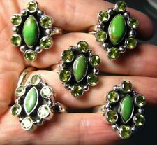 Handmade Turquoise Natural Fine Gemstone Rings
