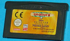 Lilo & Stitch 2 + Peter Pan Return to Never-land - Game Boy Advance GBA Nintendo