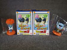 Dragon Ball Z Anime Heroes Mini Big Head Figure Kaiō-sama Princes snake Set of 2